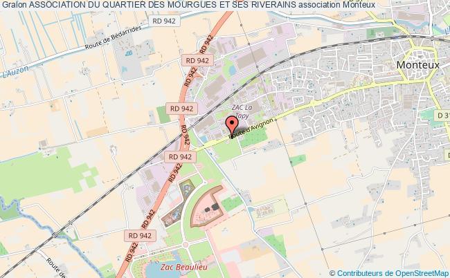 plan association Association Du Quartier Des Mourgues Et Ses Riverains
