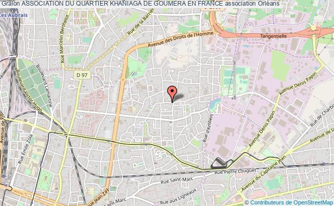 plan association Association Du Quartier Khaniaga De Goumera En France