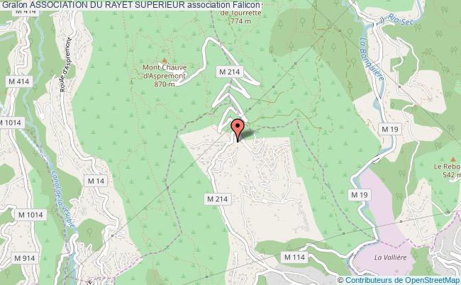 plan association Association Du Rayet Superieur