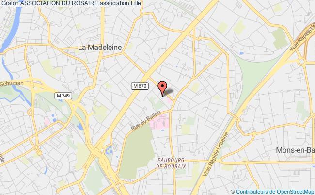 plan association Association Du Rosaire