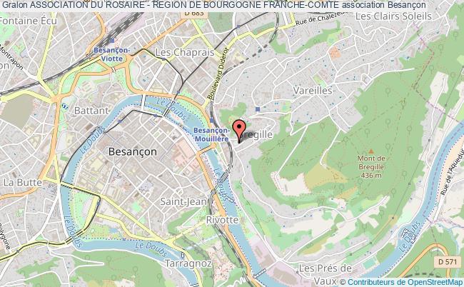 plan association Association Du Rosaire - Region De Bourgogne Franche-comte