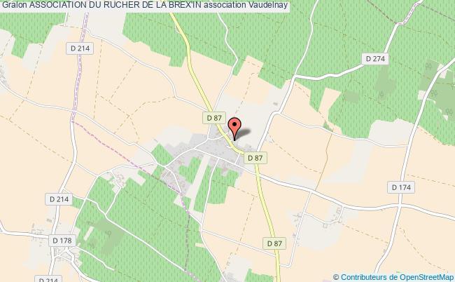 plan association Association Du Rucher De La Brex'in