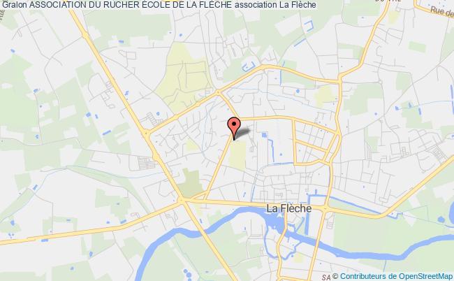 plan association Association Du Rucher École De La FlÈche La    Flèche