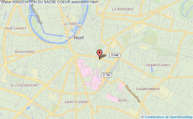 plan association Association Du Sacre Coeur