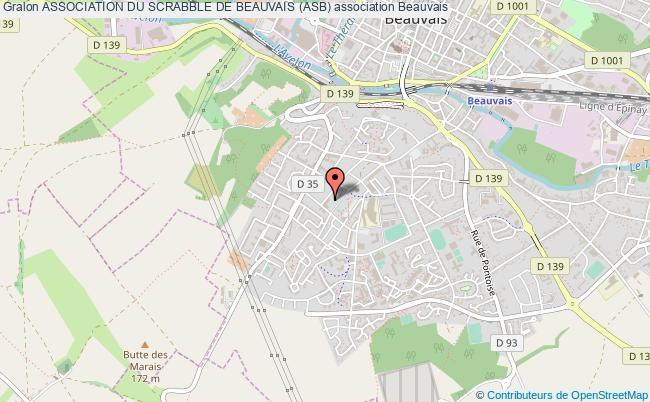 plan association Association Du Scrabble De Beauvais (asb) Beauvais