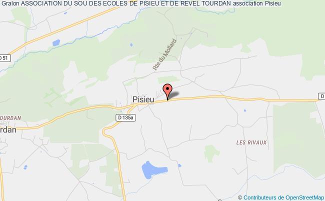 plan association Association Du Sou Des Ecoles De Pisieu Et De Revel Tourdan Pisieu
