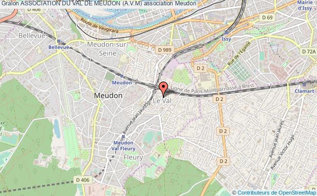 plan association Association Du Val De Meudon (a.v.m)