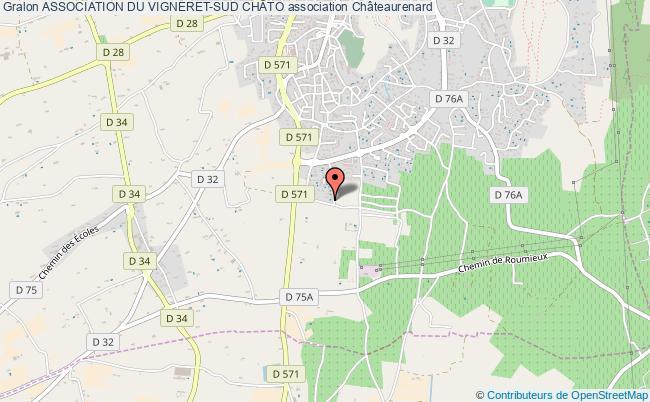 plan association Association Du Vigneret-sud ChÂto