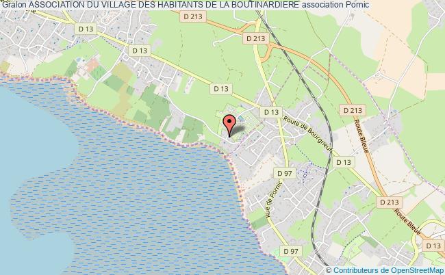 plan association Association Du Village Des Habitants De La Boutinardiere