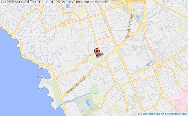 plan association Association Ecole De Provence Marseille