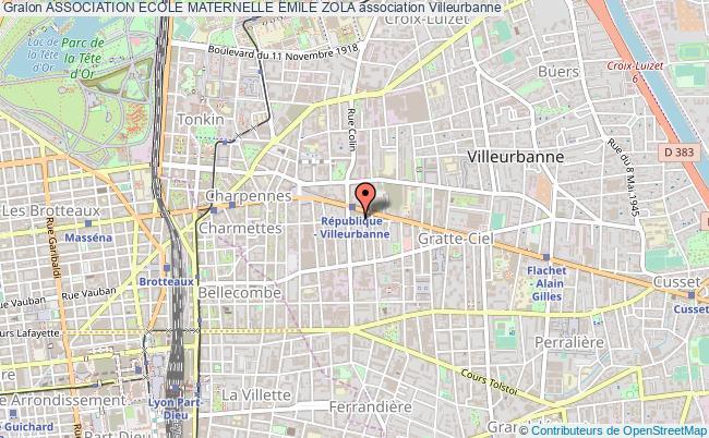 plan association Association Ecole Maternelle Emile Zola