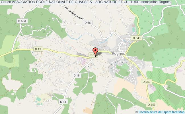 ASSOCIATION ECOLE NATIONALE DE CHASSE A L ARC NATURE ET CULTURE