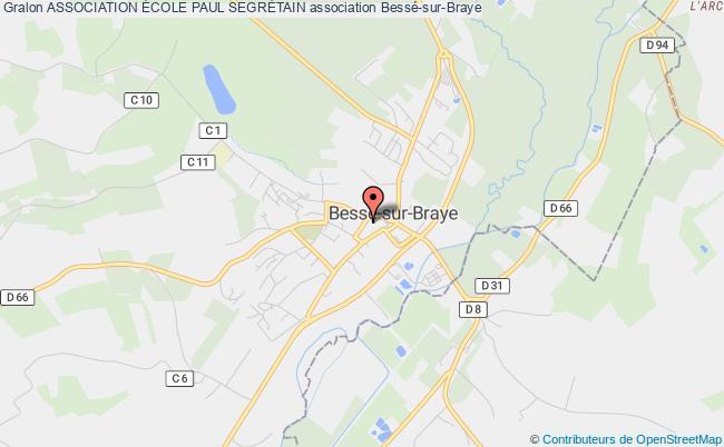 plan association Association École Paul SegrÉtain Bessé-sur-Braye