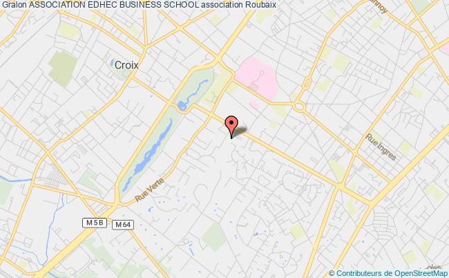 plan association Association Edhec Business School Roubaix