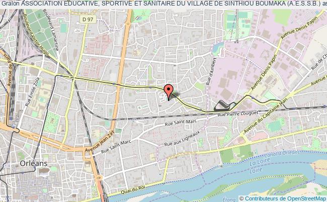 plan association Association Educative, Sportive Et Sanitaire Du Village De Sinthiou Boumaka (a.e.s.s.b.)