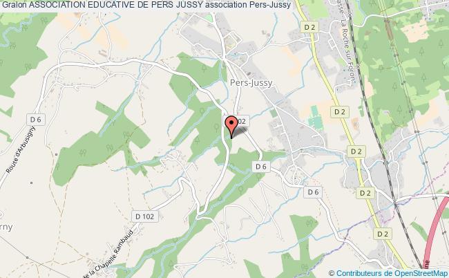 plan association Association Educative De Pers Jussy