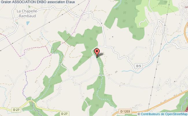 plan association Association Ekbo