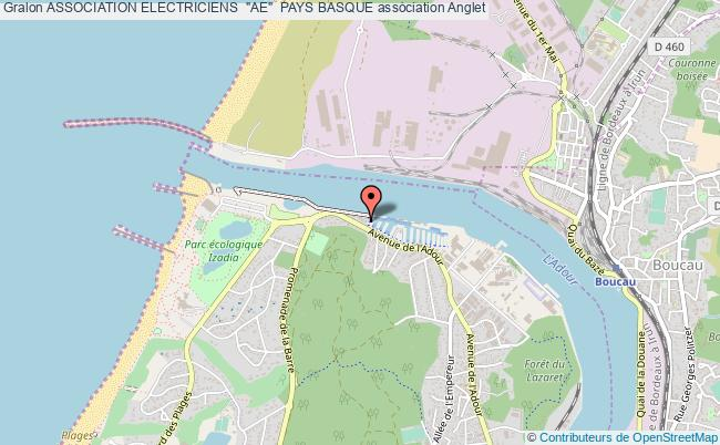 "plan association Association Electriciens  ""ae""  Pays Basque"