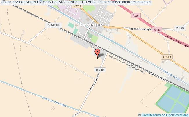 plan association Association EmmaÏs Calais Fondateur Abbe Pierre