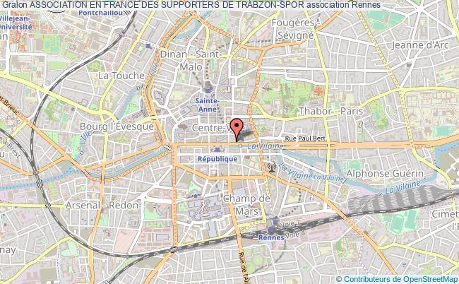 plan association Association En France Des Supporters De Trabzon-spor
