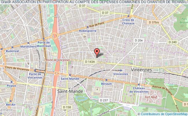 plan association Association En Participation Au Compte Des Depenses Communes Du Chantier De Rehabilitation De L'i.u.t Montreuil        Apcdc-iut  Montreuil