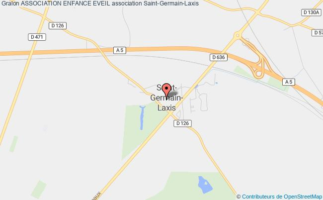 plan association Association Enfance Eveil Saint-Germain-Laxis