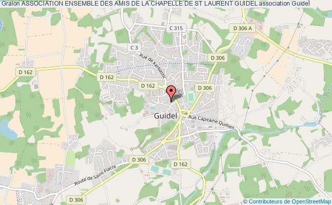 plan association Association Ensemble Des Amis De La Chapelle De St Laurent Guidel