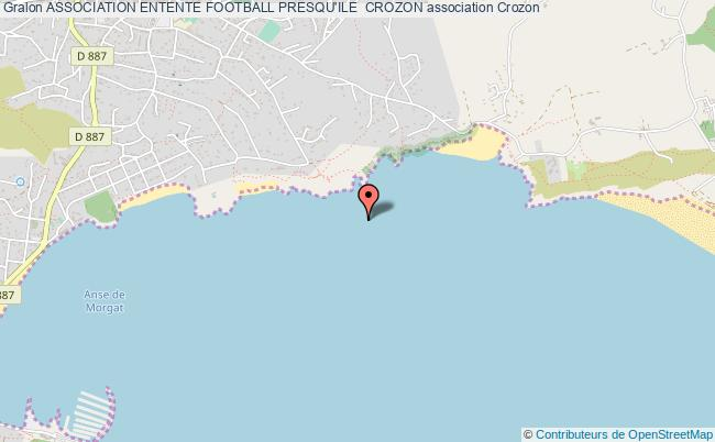 plan association Association Entente Football Presqu'ile  Crozon