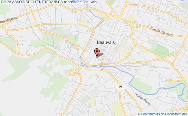plan association Association Entredanses Beauvais