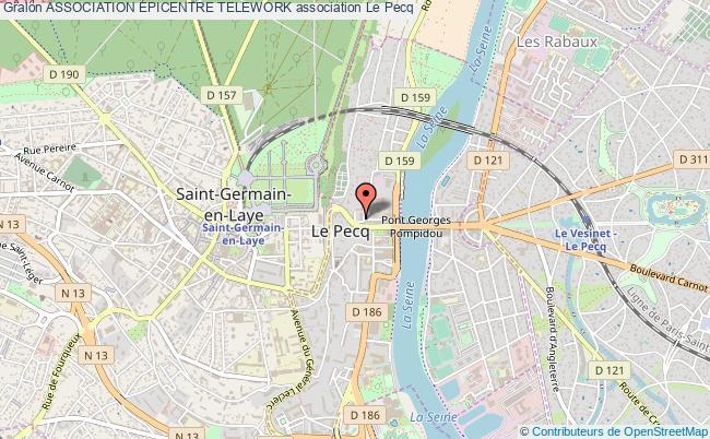 plan association Association Epicentre Telework Le    Pecq
