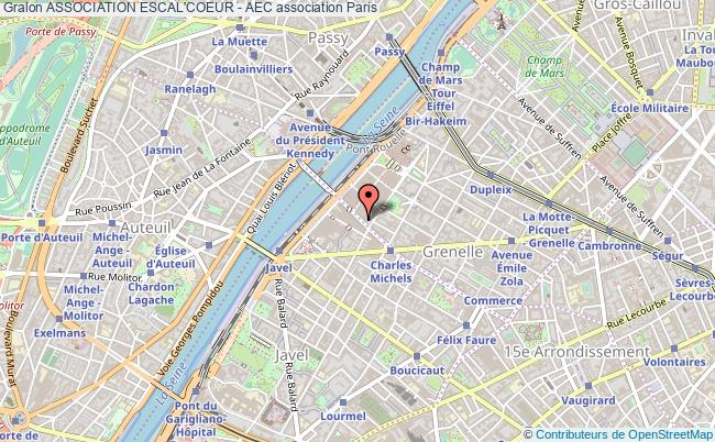 plan association Association Escal'coeur - Aec
