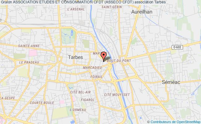 plan association Association Etudes Et Consommation Cfdt (asseco Cfdt) Tarbes
