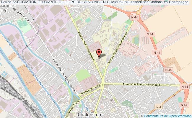 plan association Association Etudiante De L'ifps De Chalons-en-champagne