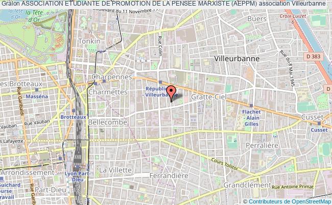 plan association Association Etudiante De Promotion De La Pensee Marxiste (aeppm)