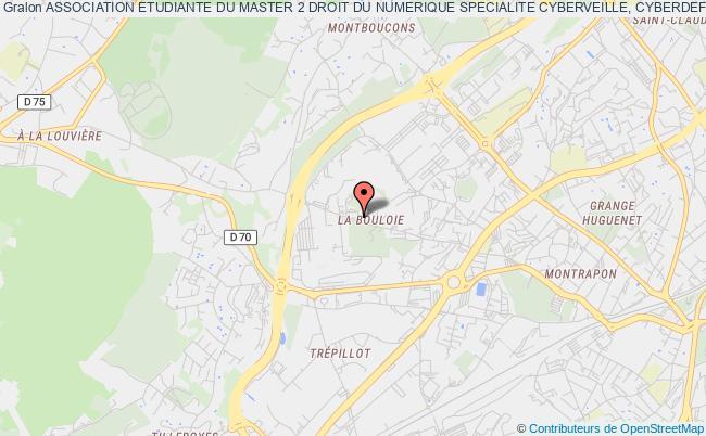 plan association Association Etudiante Du Master 2 Droit Du Numerique Specialite Cyberveille, Cyberdefense, Cybersecurite