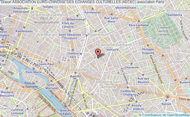 plan association Association Euro-chinoise Des Echanges Culturelles (aecec)