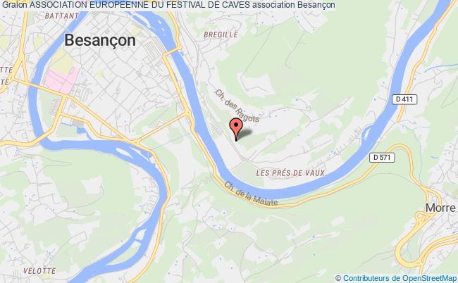 plan association Association Europeenne Du Festival De Caves