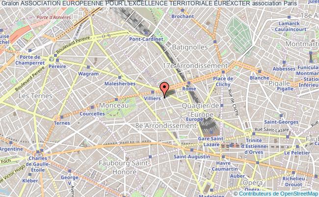 plan association Association Europeenne Pour L'excellence Territoriale Eurexcter