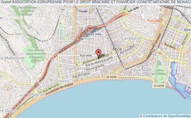 plan association Association Europeenne Pour Le Droit Bancaire Et Financier (comite National De Monaco)