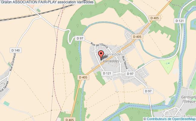 plan association Association Fair-play Varreddes
