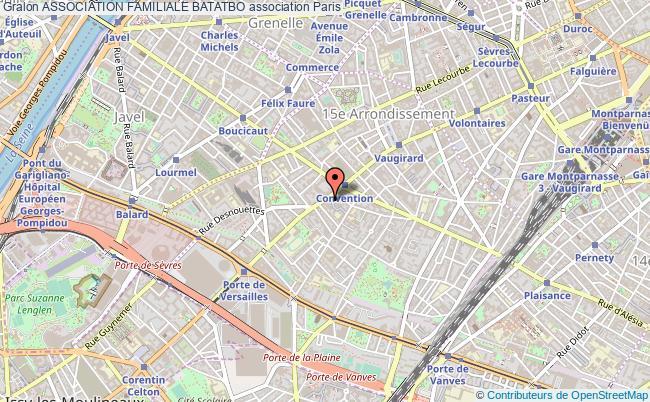 plan association Association Familiale Batatbo Paris
