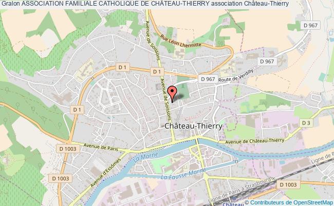 plan association Association Familiale Catholique De ChÂteau-thierry