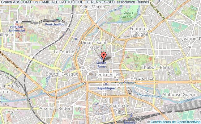 plan association Association Familiale Catholique De Rennes-sud