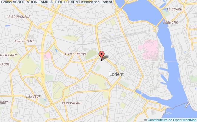 plan association Association Familiale De Lorient