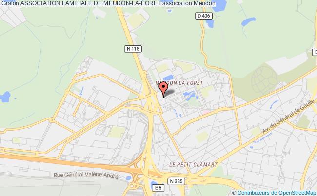 plan association Association Familiale De Meudon-la-foret