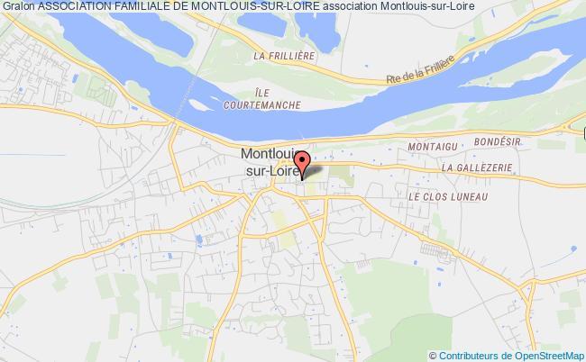 plan association Association Familiale De Montlouis-sur-loire