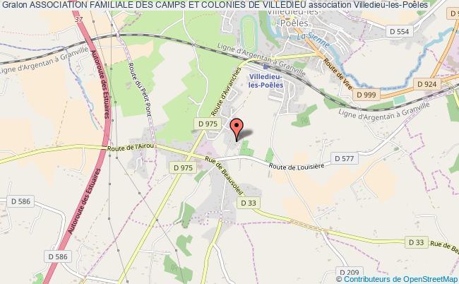 plan association Association Familiale Des Camps Et Colonies De Villedieu Villedieu-les-Poêles