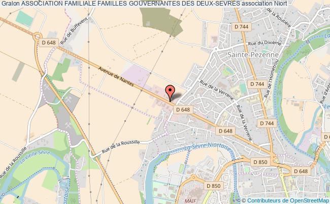 plan association Association Familiale Familles Gouvernantes Des Deux-sevres