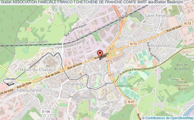 plan association Association Familiale Franco Tchetchene De Franche Comte Bart