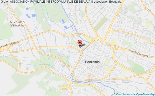 plan association Association Familiale Intercommunale De Beauvais Beauvais